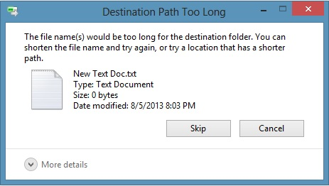 How to Fix 'File Path Too Long' Error While Copying, Deleting or Opening Files, Without Using Third Party Applications (1/6)
