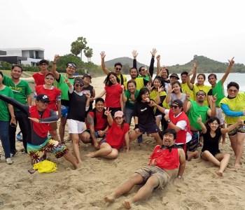 ทีมบิ้วดิ้ง Pro event ที่ Sunshine Paradise Resort ประจวบ