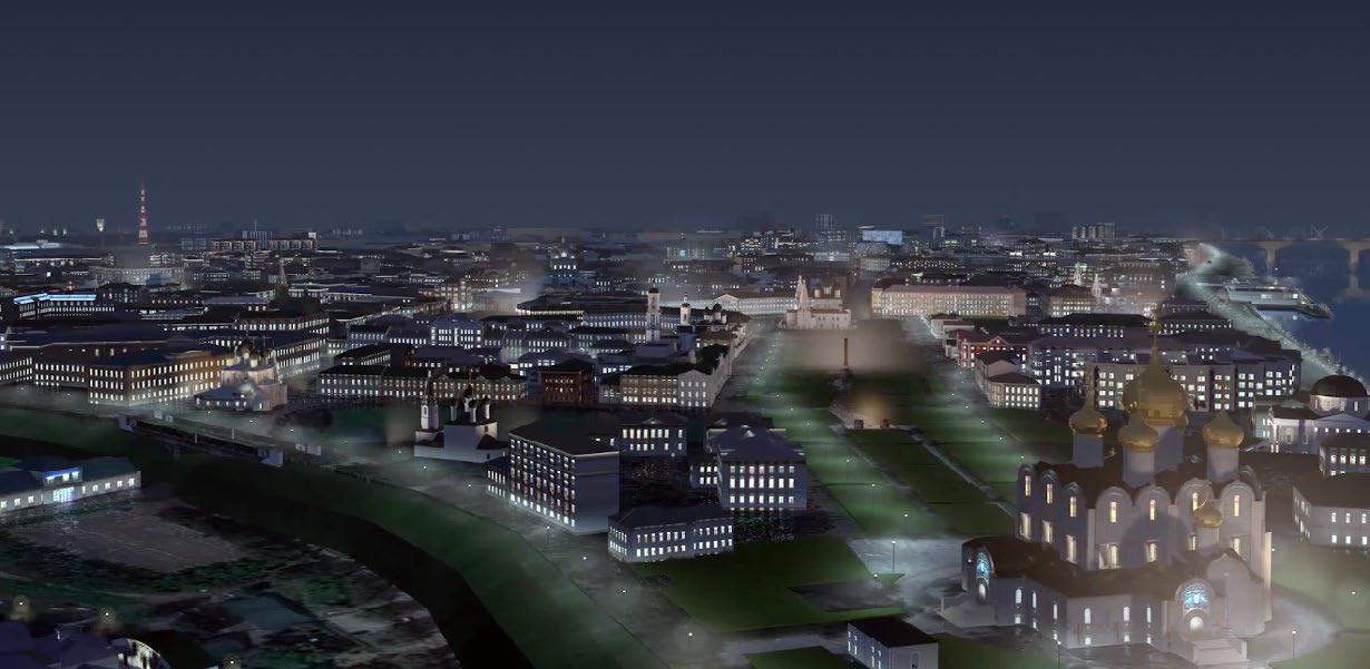 3D модель города