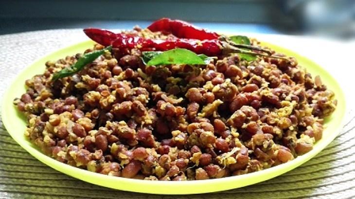 Vazakka Olathiyathu (Raw Banana with coconut pieces), banana dry recipe, kerala cooking, kerala dishes, kerala recipes, kerala cuisine, south indian recipes
