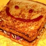 Aloo Bhujia Toast