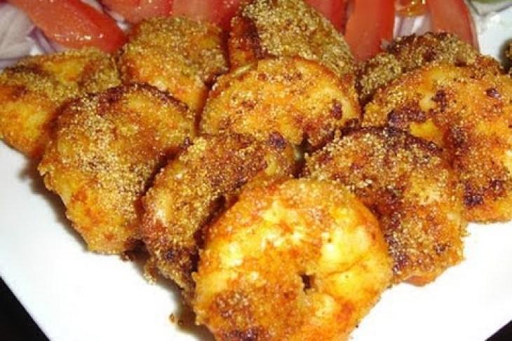 Crispy Prawns Roast, prawns roast dry recipe, prawns roast dry recipe