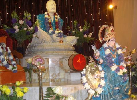 Mother Durga at Asherville Sarada Devi Ashram