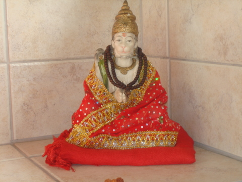 Pawanasuta Hanumani ki Jai ! - courtesy Sri Sunil Parthab