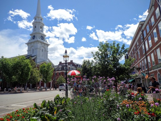 Lovely downtown Portsmouth.