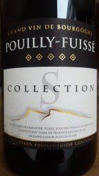Etiquette de Pouilly Fuissé Collection