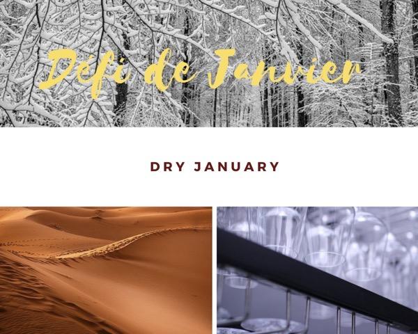 Dry January ou Défi de Janvier