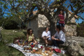 Moment de détente gourmand Photo Serge Briez Cap Médiations pour Vin4 heures tour