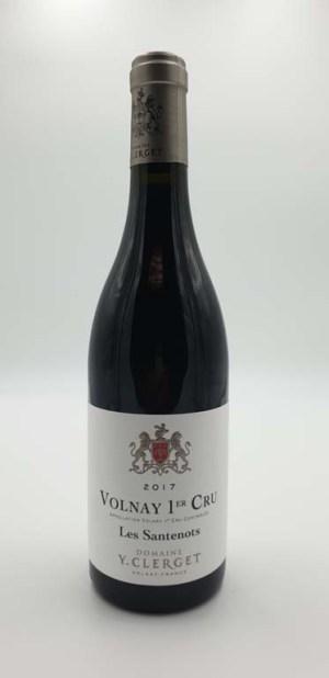 Domaine Yvon Clerget - Volnay 1er cru Santenots - 2017