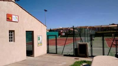 terrain de tennis de Vinassan