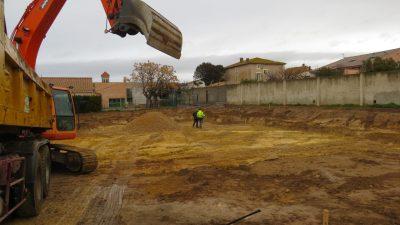 des machines de chantiers