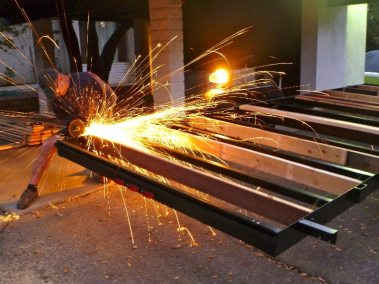 cutting-and-grinding-away-extra-steel-at-the-sides