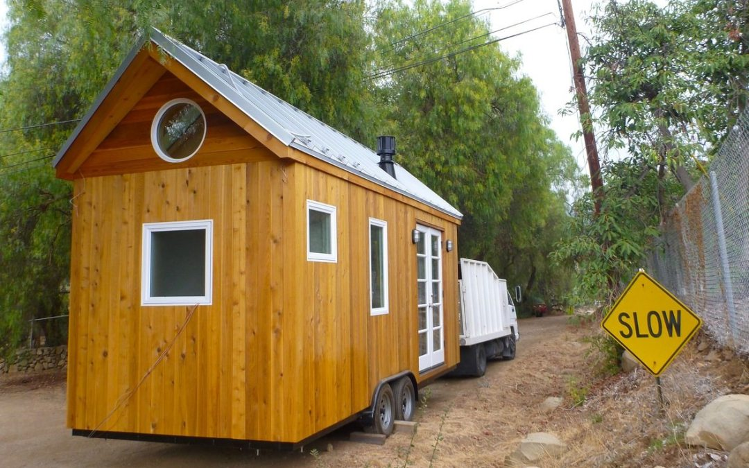 Vina's Tiny House is on the Move! | Sol Haus Design at Yale University | Spring Tiny House Bundle