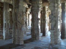 Sculptures in Pillars