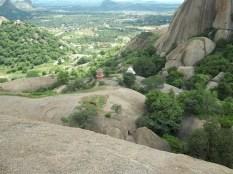 Standing atop the famous ramadevara hills, Ramanagara