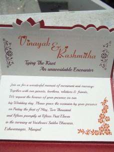 Event - My Marriage Invite