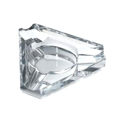 Triangle Crystal Cigar Ashtray