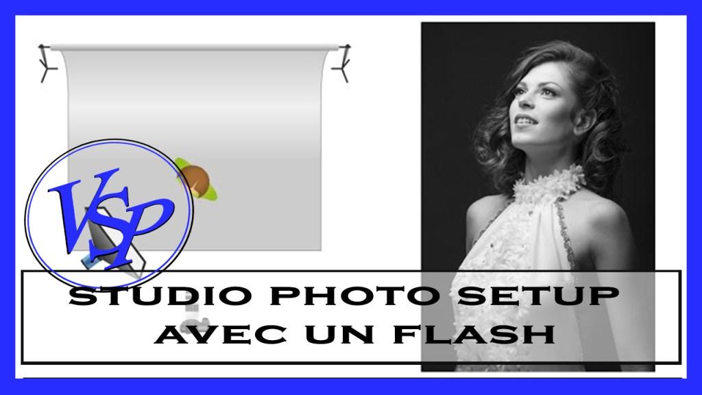 Prise de vue studio avec un flash Elinchrom