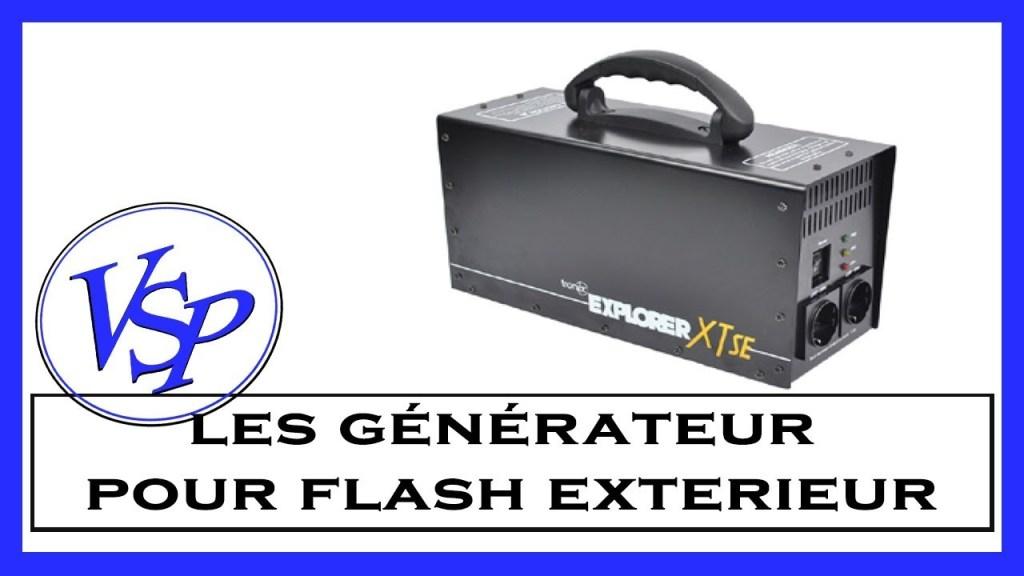 générateur pour flash en extérieur