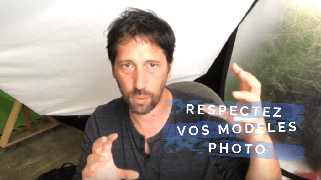 Respectez vos modèles photos