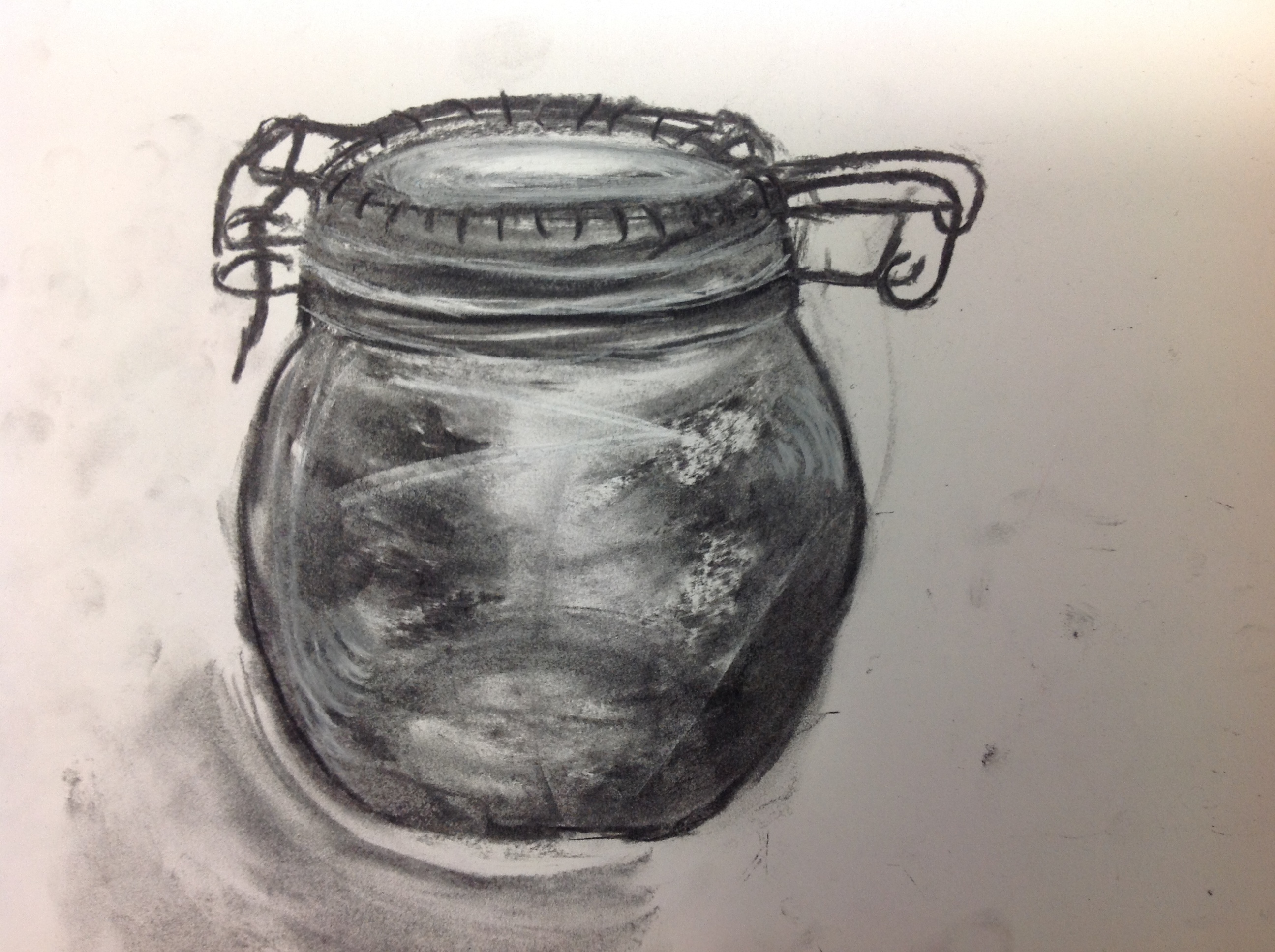 Observational Drawing Experimenting With Mediums