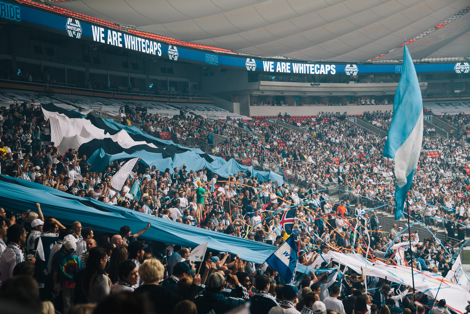 Whitecaps  BC Place Stadium  Vancouver Photographer  Vince Chow