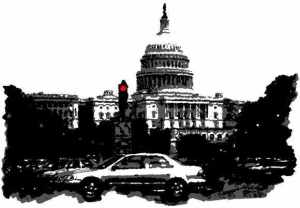 DC 2-Colour Sketches - Capitol Bldg