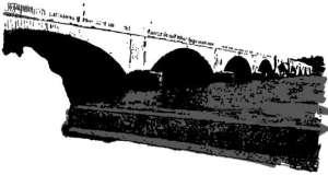 DC 2-Colour Sketches - Meml Bridge