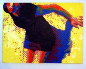 Delores (acrylic on canvas)