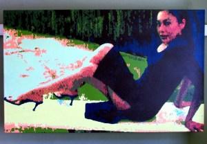 Nancy 2 (acrylic on canvas)