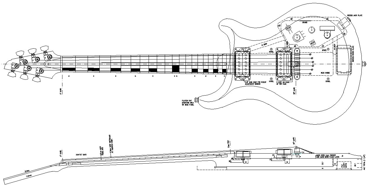 Peavey Guitar Wiring Diagrams How To Build A Guitar In 62 Easy Steps