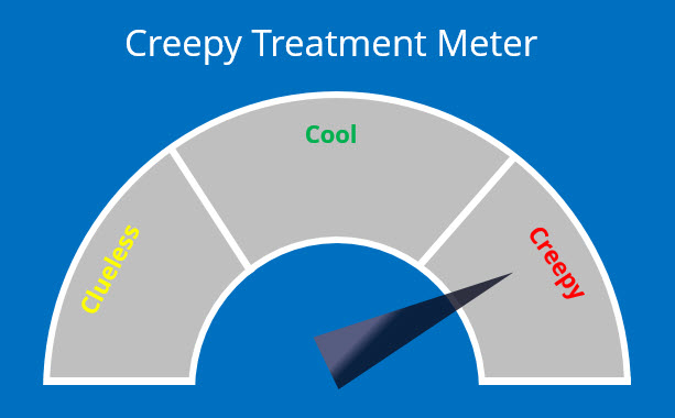 creepy meter
