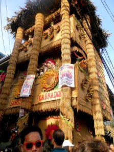 Some arangyas are made out of palays, and are few storeys long.
