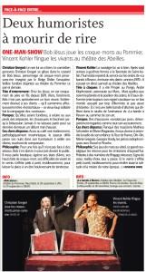 La Bande à Révox - Vincent Kohler - L'Express/Impartial 29.9.2017