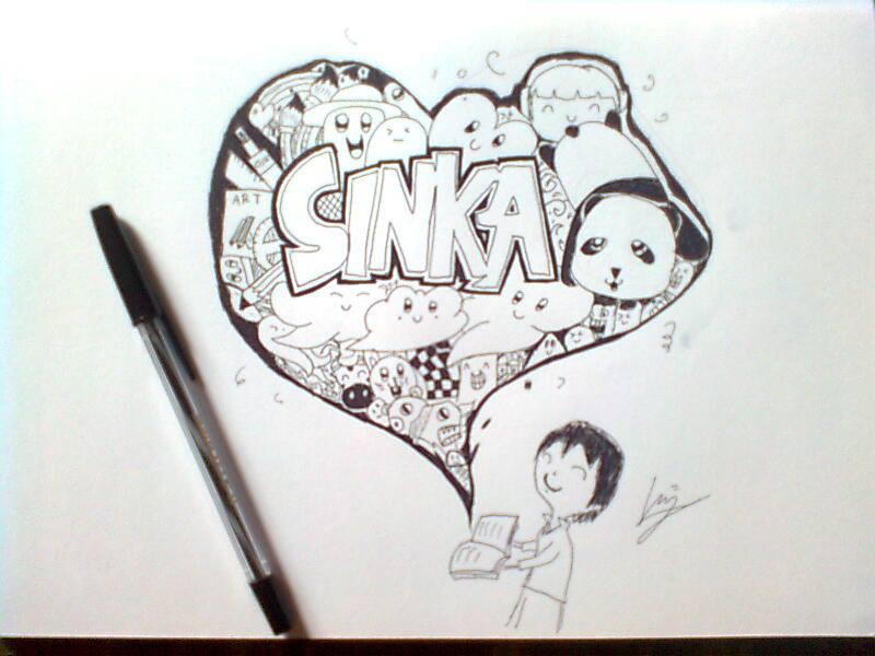 Doodle Art Seni Mencoret Vincent Cahya