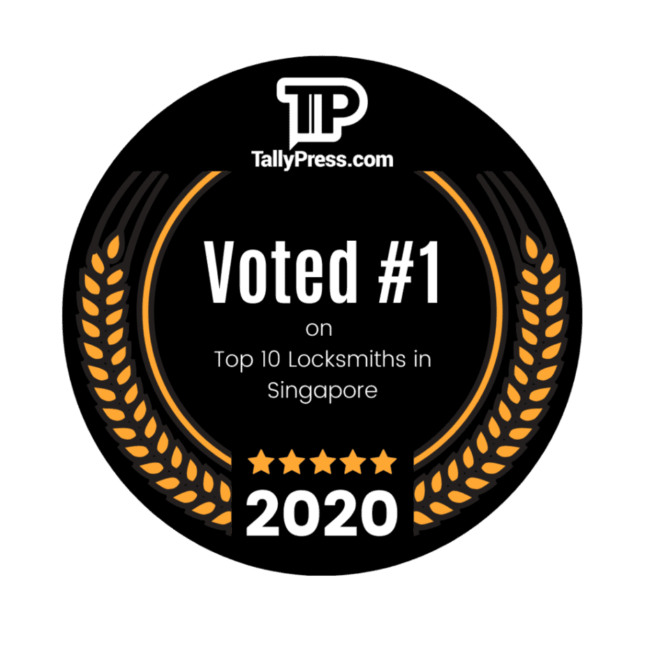 #1 in Tallypress's Top 10 Locksmiths in Singapore