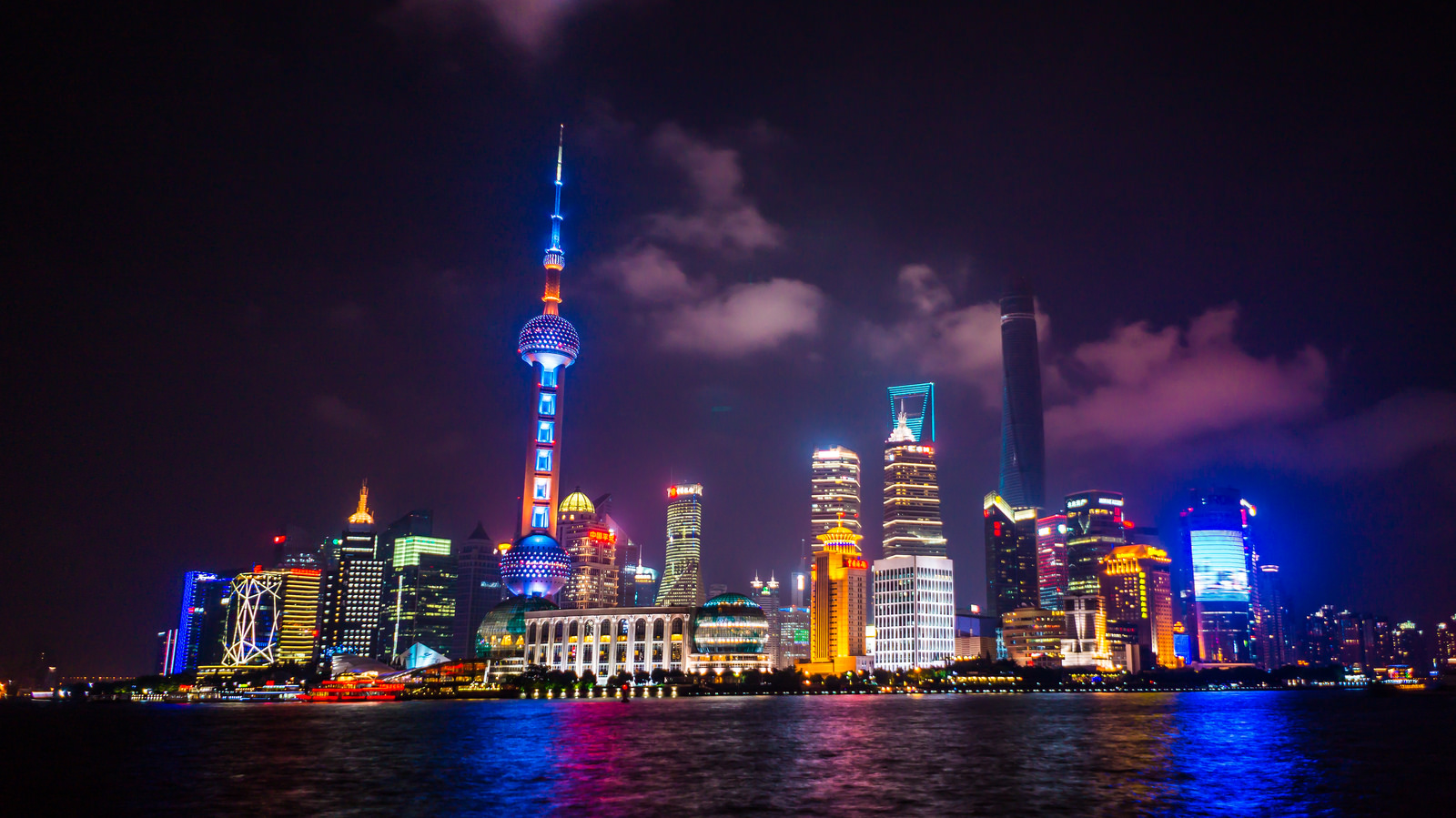 Shanghai Tower Reached Full Height In Its Construction And