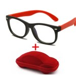 Red glasses set