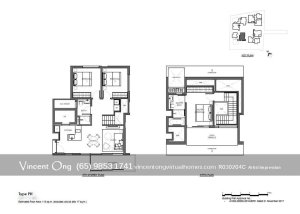 10 Evelyn @ Newton 3 Bedroom Penthouse Floor Plan call 6598531741