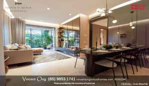 Fourth Avenue Residences 3BR+Study Showroom call 98531741