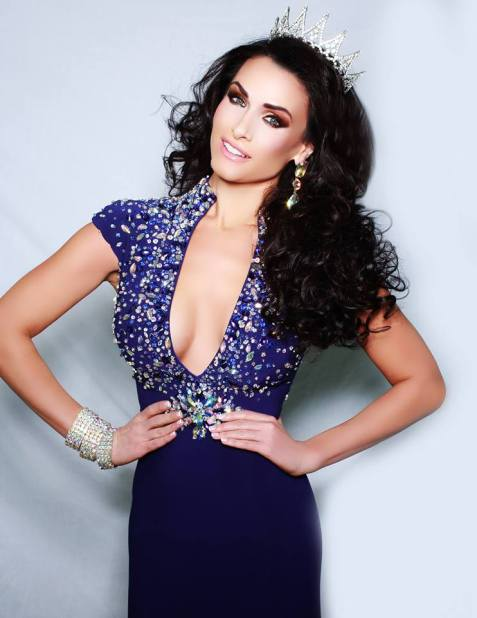 Wearing the Crown of Miss Delaware 2015 United States