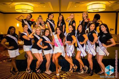 Miss Elite Earth with State Winners 2017