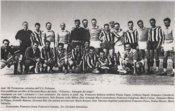 Polistena calcio Manfredo era il portiere