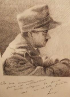 Ritratto di Luigi a suo zio Giu. Lombardi