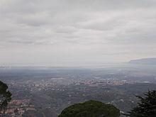 Vista di Polistena dal Castello