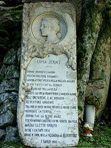 Luisa Jerace moglie di Vincenzo