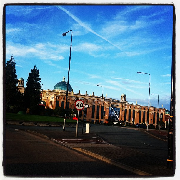 Blue Skies over the Trafford Centre