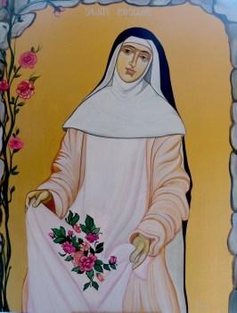 Icône de Sainte Roseline des Arcs sur Argens
