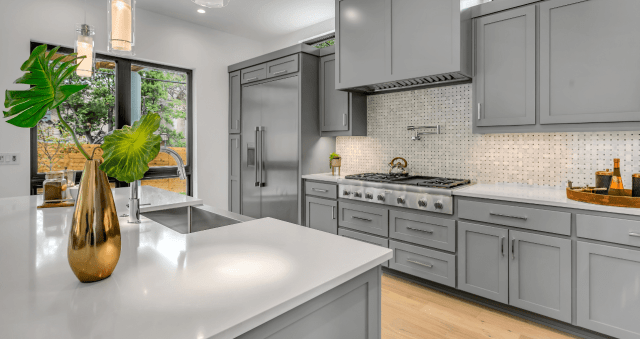 wpc boards used as kitchen cabinets