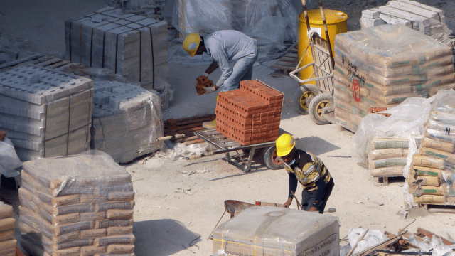 Material assembly for prefab construction